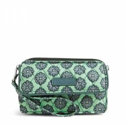 Vera Bradley All in One Crossbody and Wristlet for iPhone 6+ in Nomadic Blossoms