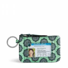 Vera Bradley Zip ID Case in Nomadic Blossoms