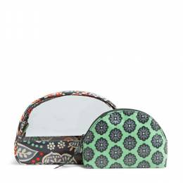Vera Bradley Clear Cosmetic Duo in Nomadic Floral