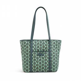 Vera Bradley Small Trimmed Vera Tote in Nomadic Blossoms