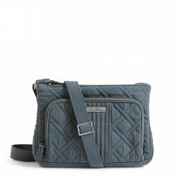 Vera Bradley Little Hipster Crossbody in Charcoal