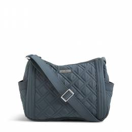 Vera Bradley On the Go Crossbody in Charcoal
