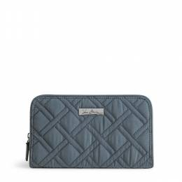 Vera Bradley Accordian Wallet in Charcoal