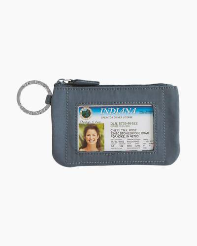 Zip ID Case in Charcoal