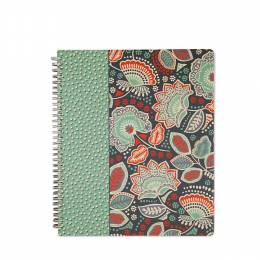 Vera Bradley Notebook with Pocket in Nomadic Floral