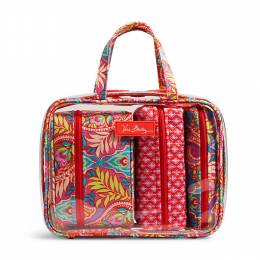 Vera Bradley 4 pc. Cosmetic Organizer in Paisley In Paradise