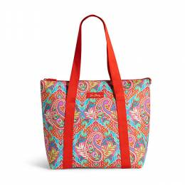 Vera Bradley Cooler Tote in Paisley in Paradise