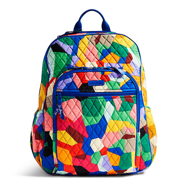 Vera Bradley Campus Tech Backpack in Pop Art