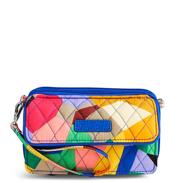 Vera Bradley All in One Crossbody and Wristlet for iPhone 6+ in Pop Art