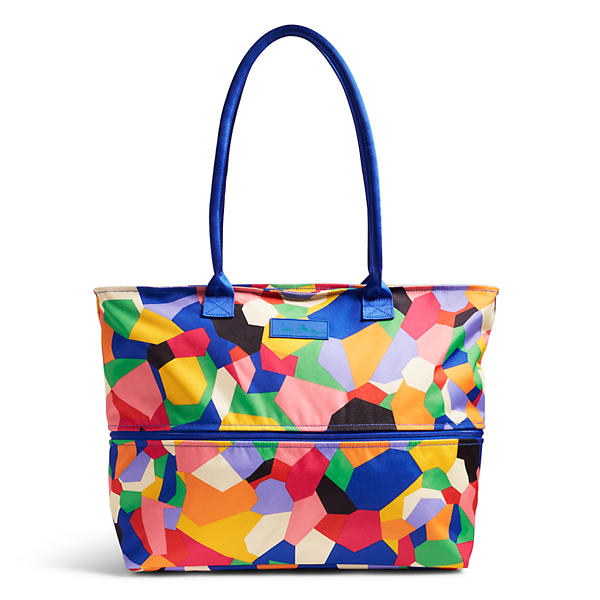 Vera Bradley Lighten Up Exandable Travel Tote in Pop Art