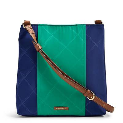 Preppy Poly Molly Crossbody in Evening Sky and Clover
