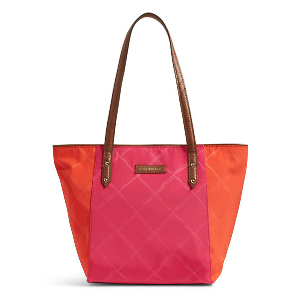Vera Bradley Ella Tote in Rose Orange