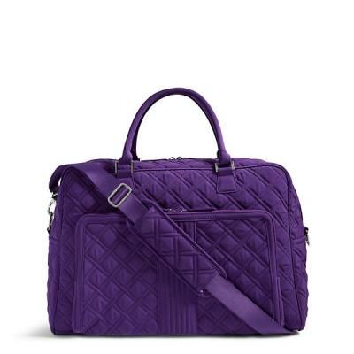 Vera Bradley Weekender Travel Bag in Elderberry