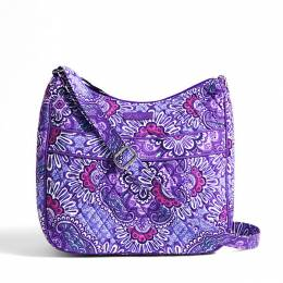 Vera Bradley Carryall Crossbody in Lilac Tapestry