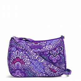 Vera Bradley Little Crossbody in Lilac Tapestry