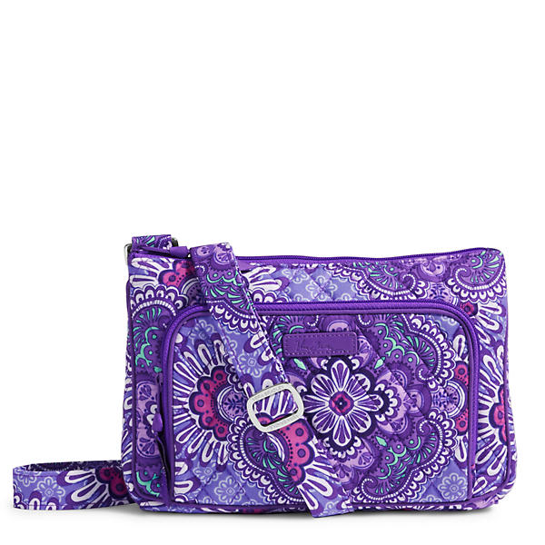 Vera Bradley Little Hipster Crossbody in Lilac Tapestry