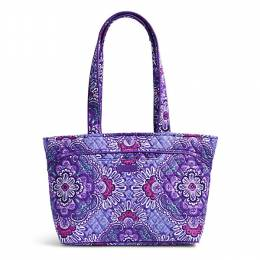 Vera Bradley Mandy Shoulder Bag in Lilac Tapestry