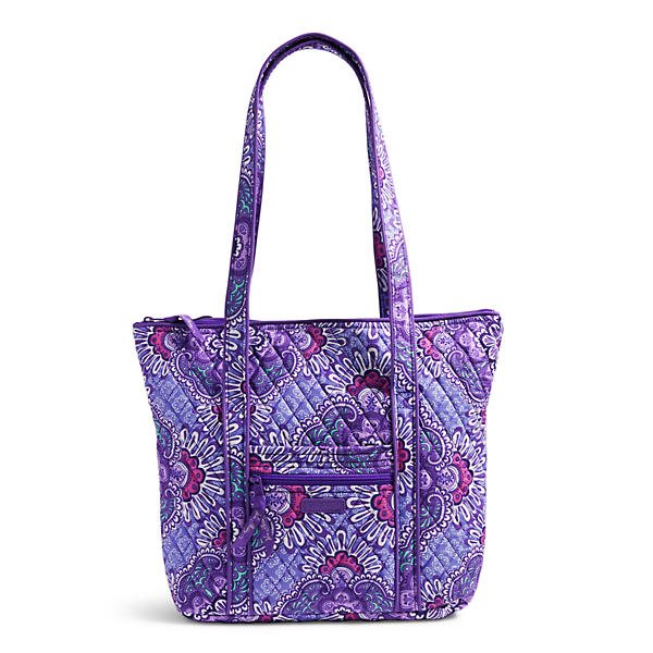 Vera Bradley Villager Shoulder Bag in Lilac Tapestry