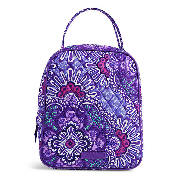 Vera Bradley Lunch Bunch Bag in Lilac Tapestry