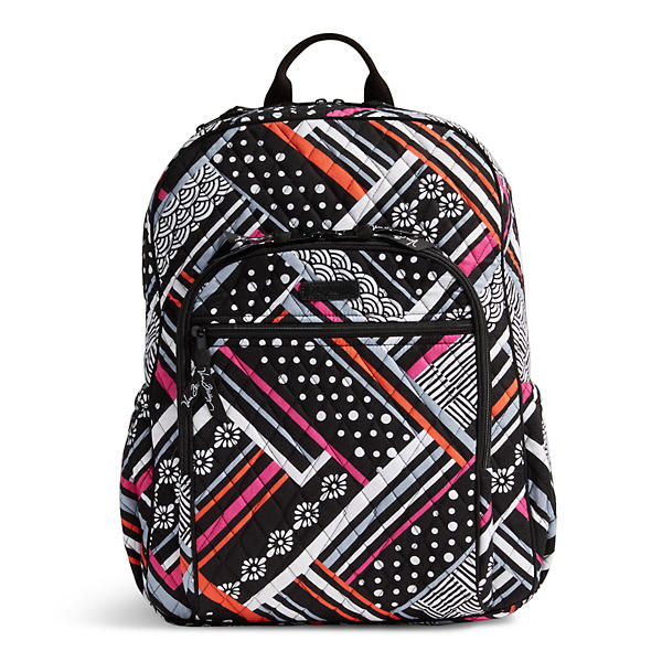 Vera Bradley Campus Tech Backpack in Northern Stripes