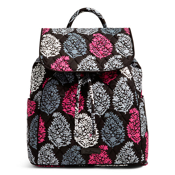 Vera Bradley Drawstring Backpack in Northern Lights
