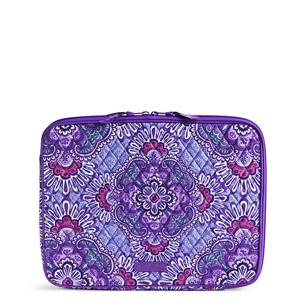 Vera Bradley Laptop Sleeve in Lilac Tapestry