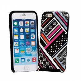 Vera Bradley Hybrid Case for iPhone 6/6s in Northern Stripes