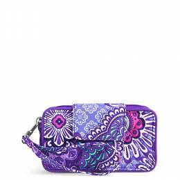 Vera Bradley Smartphone Wristlet for iPhone 6 in Lilac Tapestry