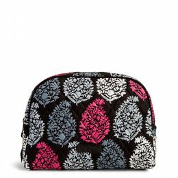 Vera Bradley Large Zip Cosmetic Bag in Northern Lights