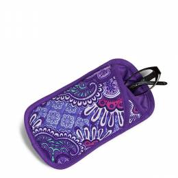 Vera Bradley Double Eye Eyeglass Case in Lilac Tapestry