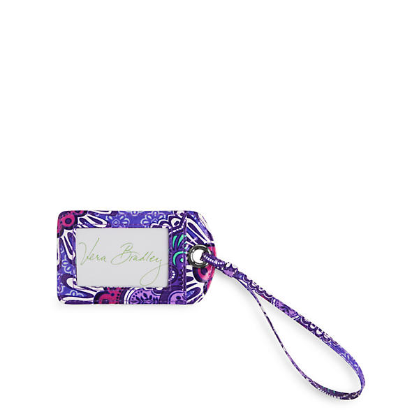 Vera Bradley Luggage Tag in Lilac Tapestry
