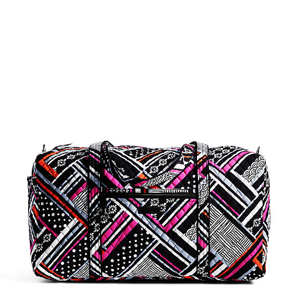 Vera Bradley Large Duffle 2.0 Travel Bag in Northern Stripes