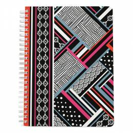 Vera Bradley Mini Notebook in Northern Stripes