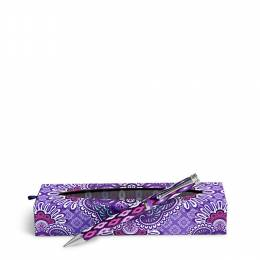 Vera Bradley Ball Point Pen in Lilac Tapestry