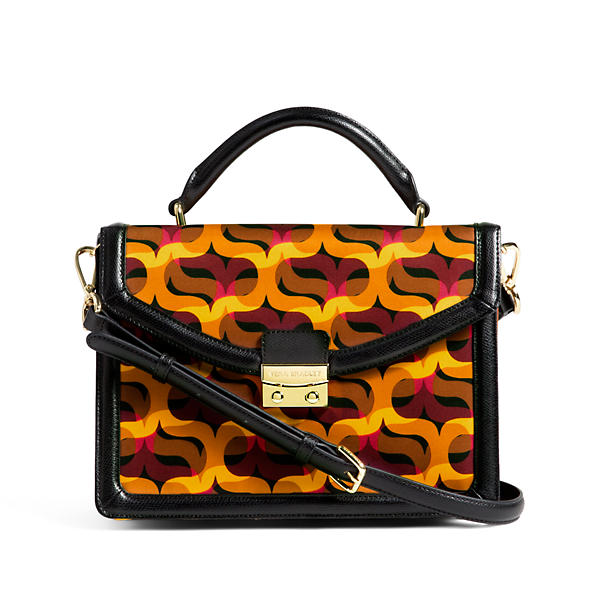 Vera Bradley Lydia Satchel in Modern Lights