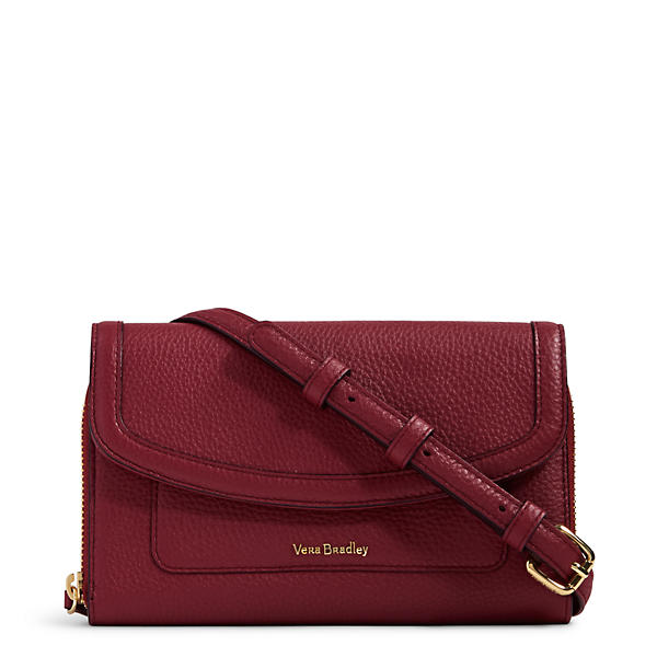 Vera Bradley Ultimate Crossbody in Claret