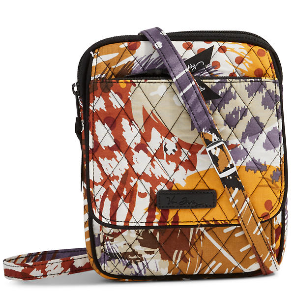 Vera Bradley Mini Hipster in Painted Feathers
