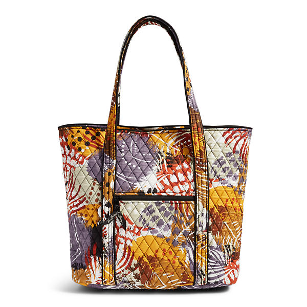 Vera Bradley Vera 2.0 Tote in Painted Feathers