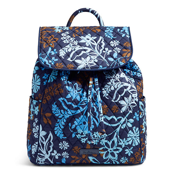 Vera Bradley Drawstring Backpack in Java Floral