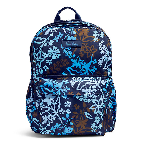 Vera Bradley Lighten Up Grande Laptop Backpack in Java Floral
