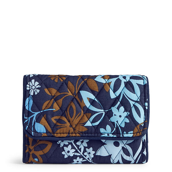 Vera Bradley Riley Compact Wallet in Java Floral