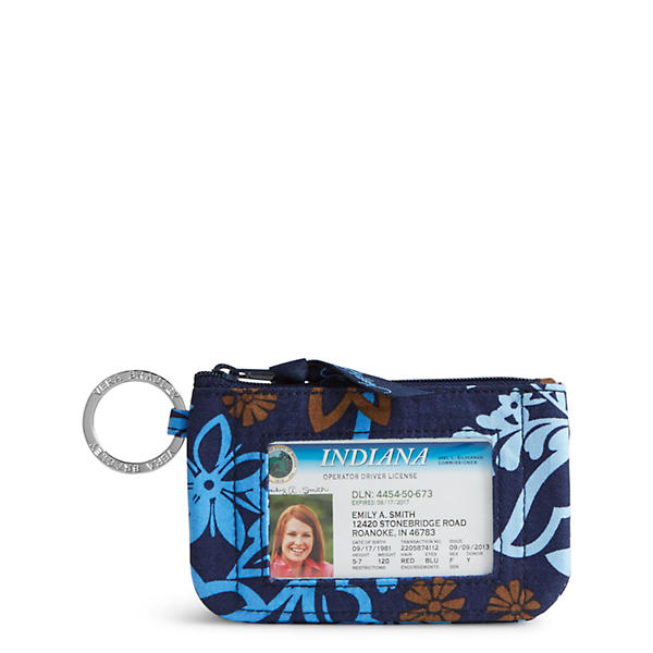 Vera Bradley Zip ID Case in Java Floral