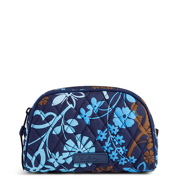 Vera Bradley Small Zip Cosmetic Bag in Java Floral