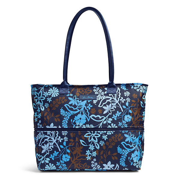 Vera Bradley Lighten Up Exandable Travel Tote in Java Floral