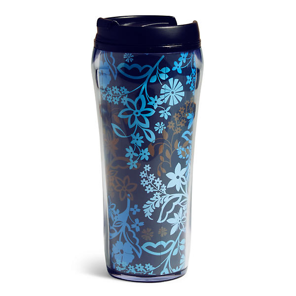 Vera Bradley Travel Mug in Java Floral