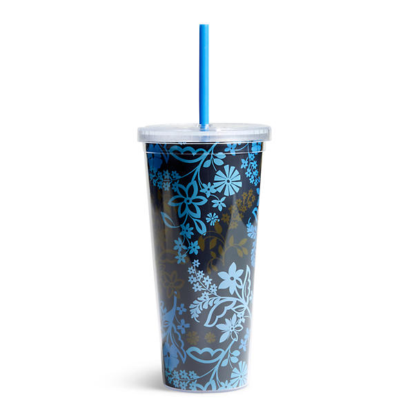 Vera Bradley Travel Tumbler in Java Floral