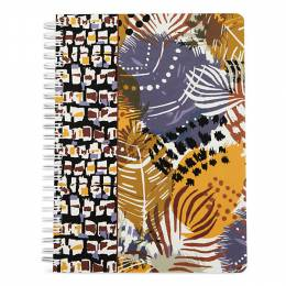 Vera Bradley Mini Notebook in Painted Feathers