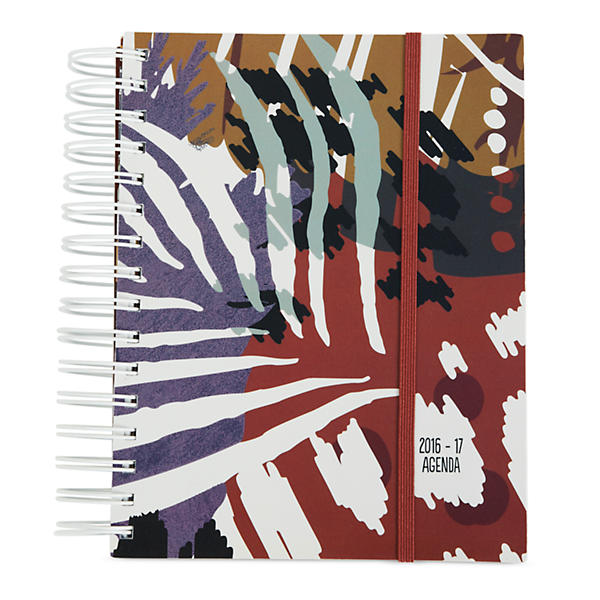 Vera Bradley Student Agenda in Painted Feathers