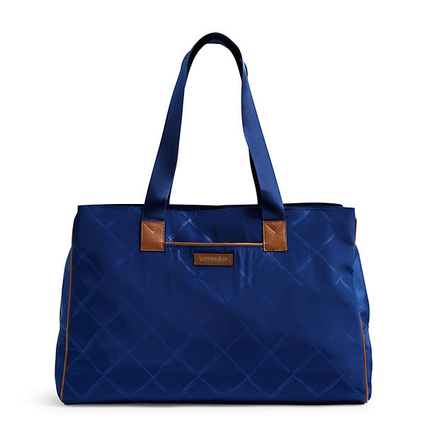 Vera Bradley Preppy Poly Travel Bag in Evening Sky