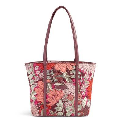 Small Trimmed Vera Tote in Bohemian Blooms